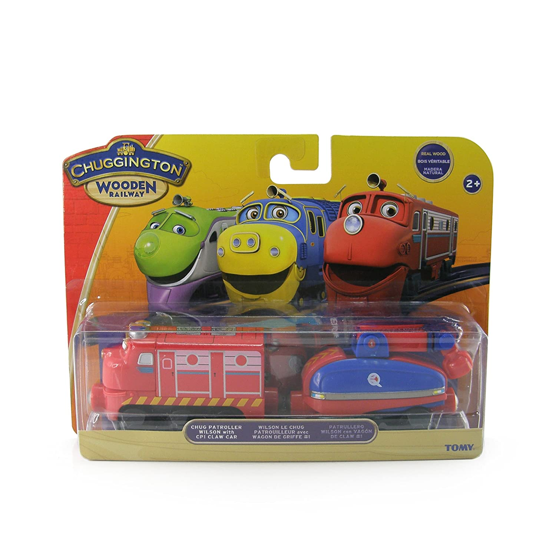 Amazon.com: Chuggington Wooden Railway Chug Patrol Wilson: Toys & Games