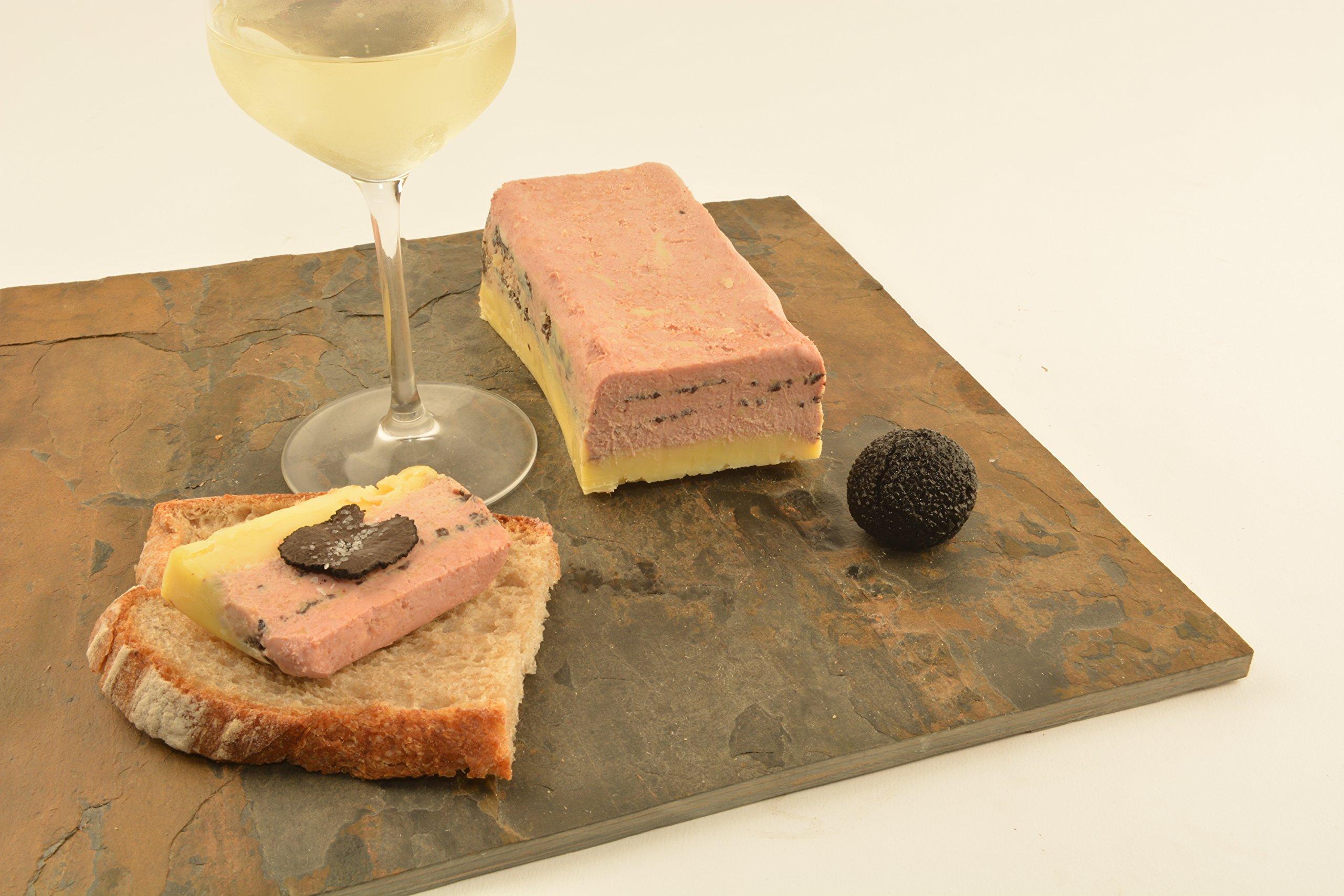 Foie Gras Terrine with Black Truffles, 1.3lbs
