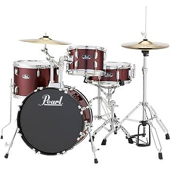 Amazon Com Ludwig Lc178x029 Questlove Pocket 4 Piece Drum Kit In