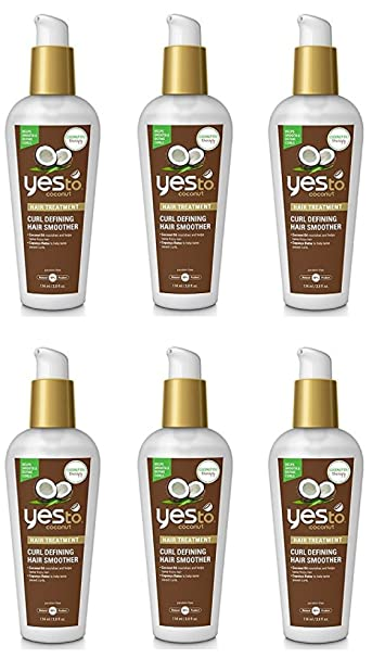Amazon Com Yes To Coconut Curl Defining Hair Smoother 3 8