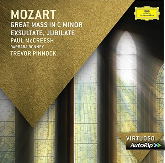 Mozart Great Mass In C Minor Exsultate Jubilate Virtuoso Series Amazoncouk Music