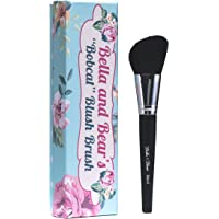 Bella and Bear Blush Brush for highlighting bronzing contouring suitable for creams and powders vegan friendly