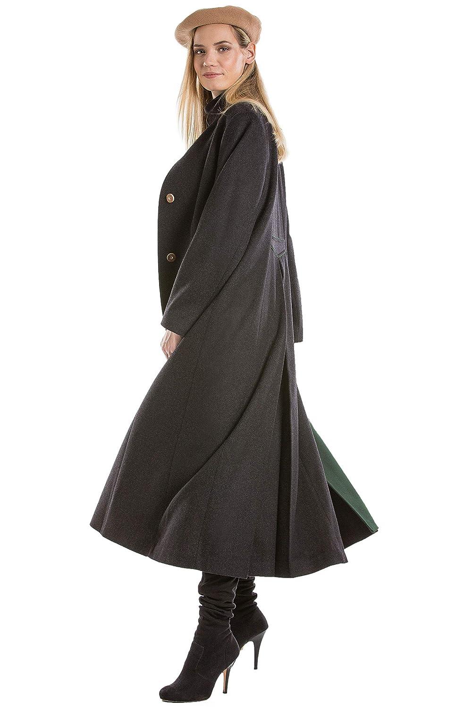 7a4aaf5a2 Amazon.com: Robert W. Stolz Women's Long Austrian Loden Wool Coat ...