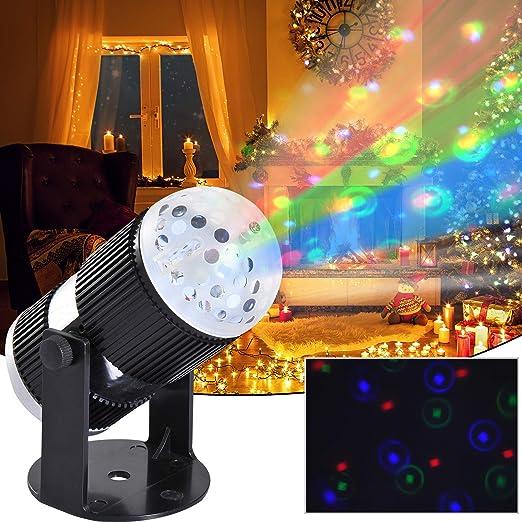 Tidyard - Proyector LED para Navidad, jardín, Interior y Exterior ...