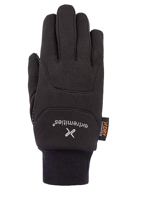 Neu Extremities Wasserdichter Sticky Power Liner Handschuh Schwarz Bekleidung Damen