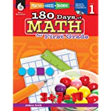 180 Days of Math for 1st Grade - First Grade Math Workbook for Children Ages 5-7, Created by Teachers to Help Kids Master Challenging Math Concepts with 180 Pages of Fun Daily Practice Activities