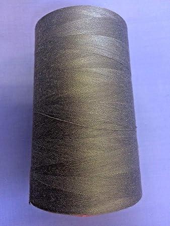 Hilo para máquina de coser con 4 hilos, madera de madera.: Amazon ...
