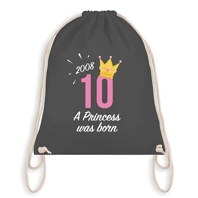 Geburtstag Kind 12 Geburtstag Madchen Princess Unisize Hellgrun
