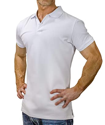6d82ecd93124 Grit Lab Men s Slim Fit Polo Shirt