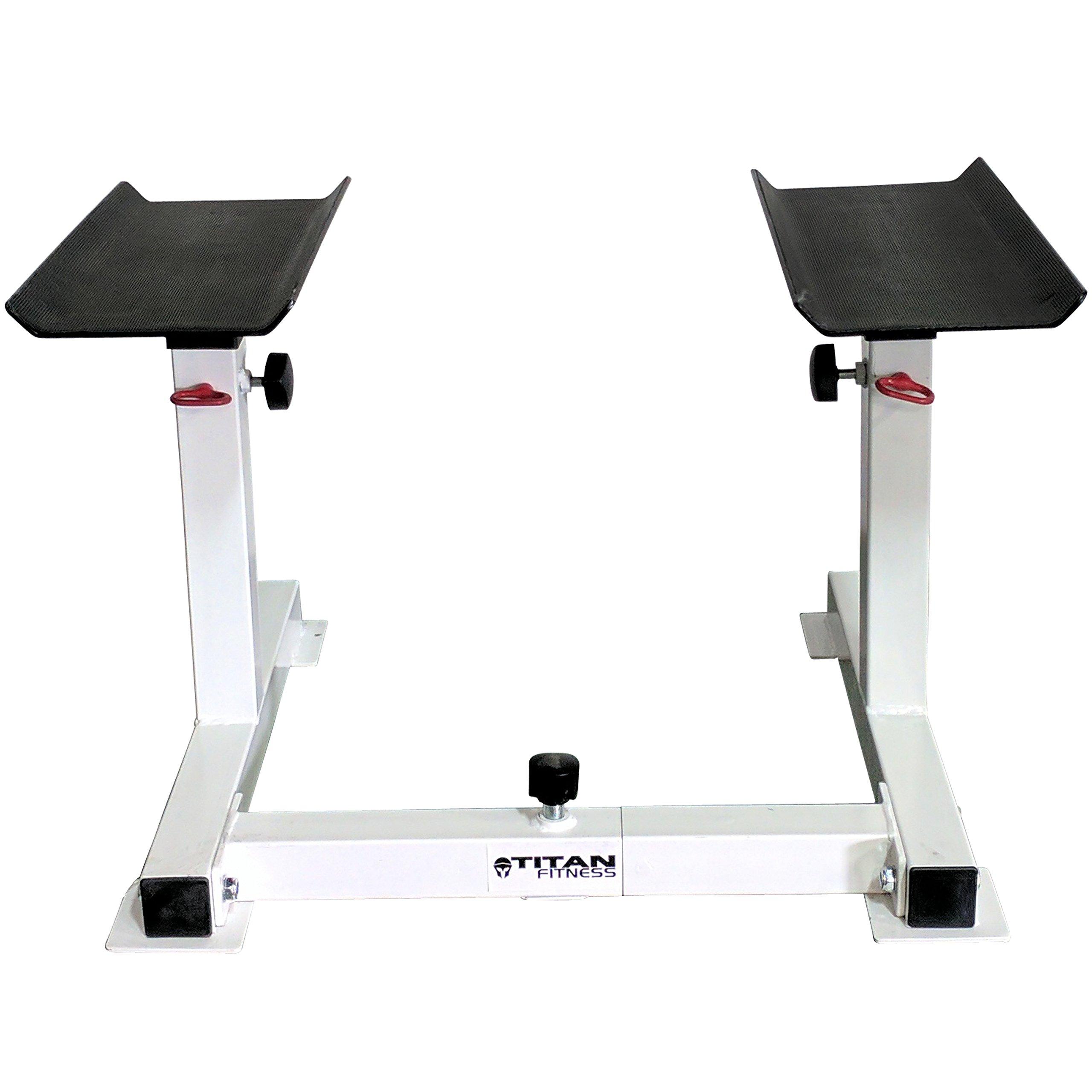Titan Adjustable Height Dumbbell Holder by Titan Fitness (Image #2)