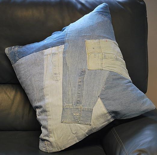 Cosido material reciclado con forma de diseño de tela ...