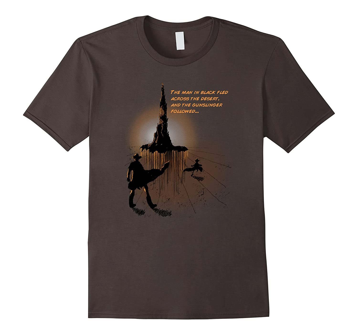 Rolands Quest  Dark Tower Gunslinger T-Shirt-TD