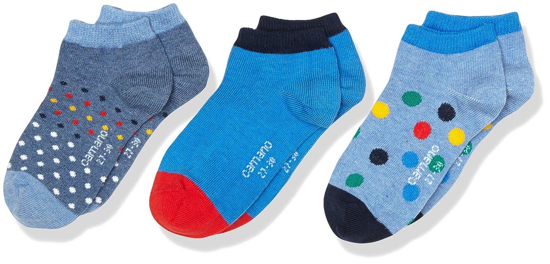 Camano Calcetines para Deportivas y Botines para Ni/ños Pack de 3