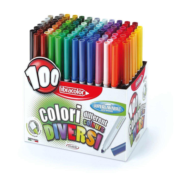 feutre coloriage 100