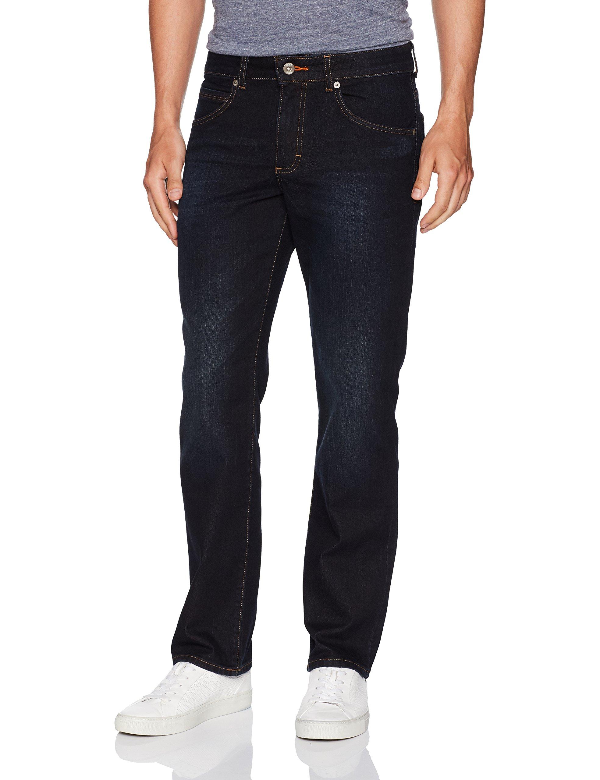 LEE Men's Modern Series Straight-Fit Jean, Powerhouse, 42W x 30L
