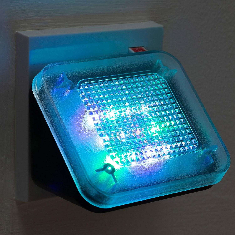 Simulador de televisi/ón falso negro Dispositivo antirrobo de seguridad en el hogar simulador de televisi/ón dispositivo antirobo con temporizador y sensor de luz