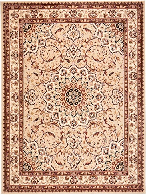 We Love Rugs Carpeto Area Rug Beige Oriental Persian Classic Traditional Home Durable Carpet For Living Room Dininng Room Bedroom Short Pile Easy To Clean Verona 70 X 130