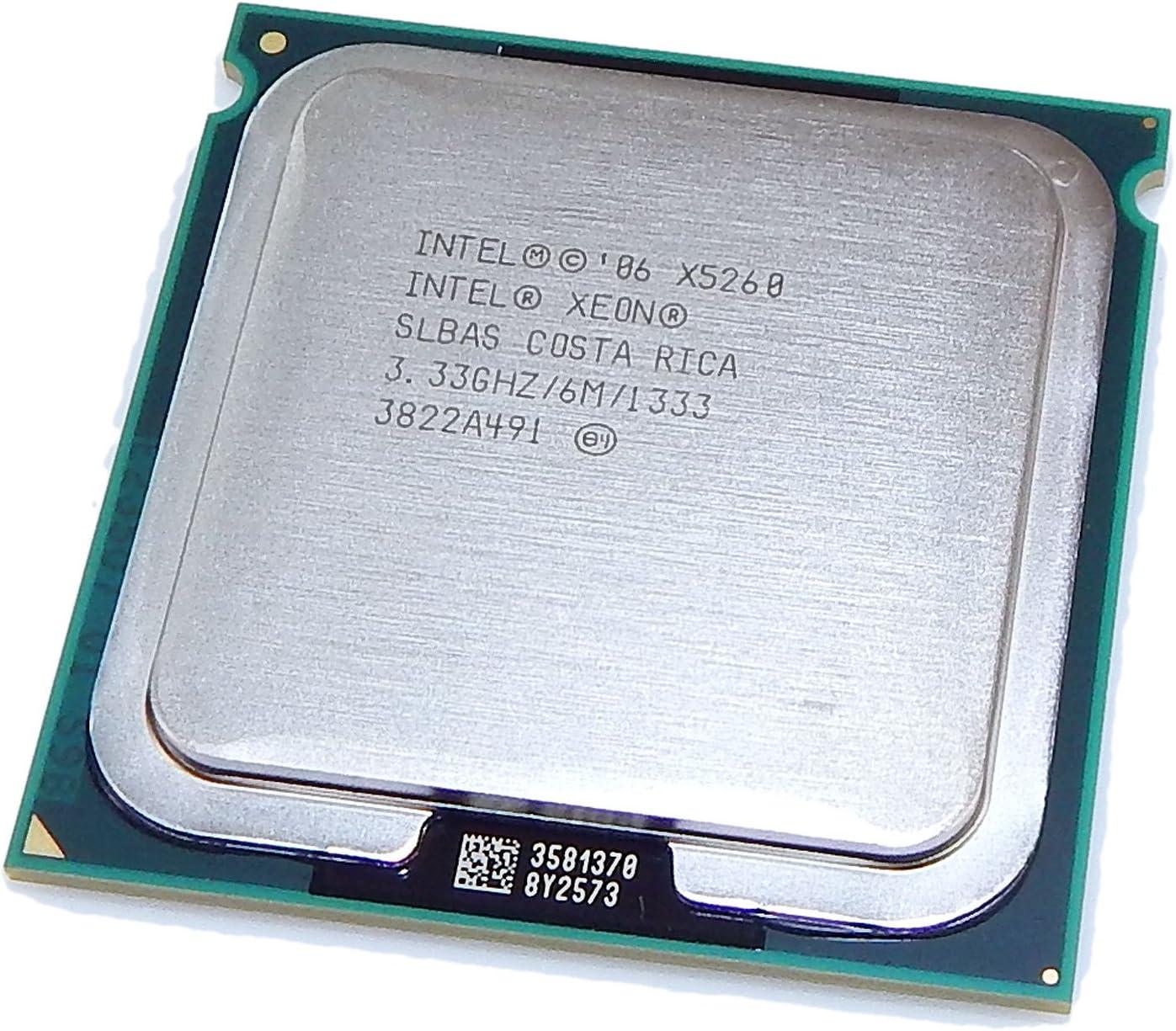 Intel Xeon X5260 333GHz 6MB LGA771 1333 CPU SLBAS