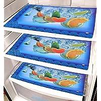 مفارش رقائقية لادراج الثلاجة ذات وجهين من كوبر اندستريس، 6 قطع (الوان متعددة)