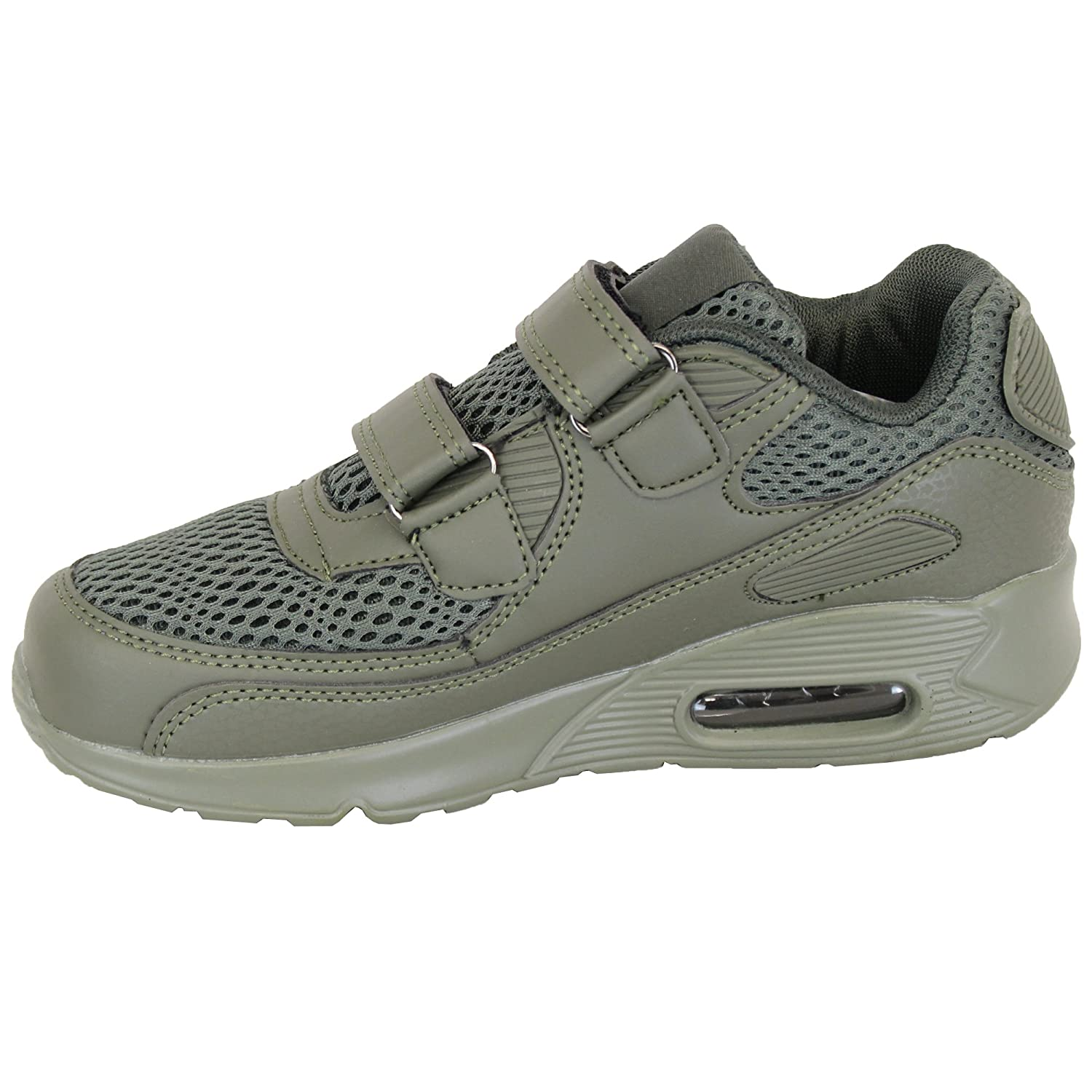 Boys Kids Lightweight Shock Absorb Youth Trainers 12151
