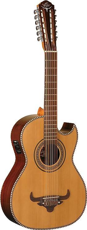 Oscar Schmidt OH52SE-O-U - Guitarra acústica (bajo sexto, 12 ...