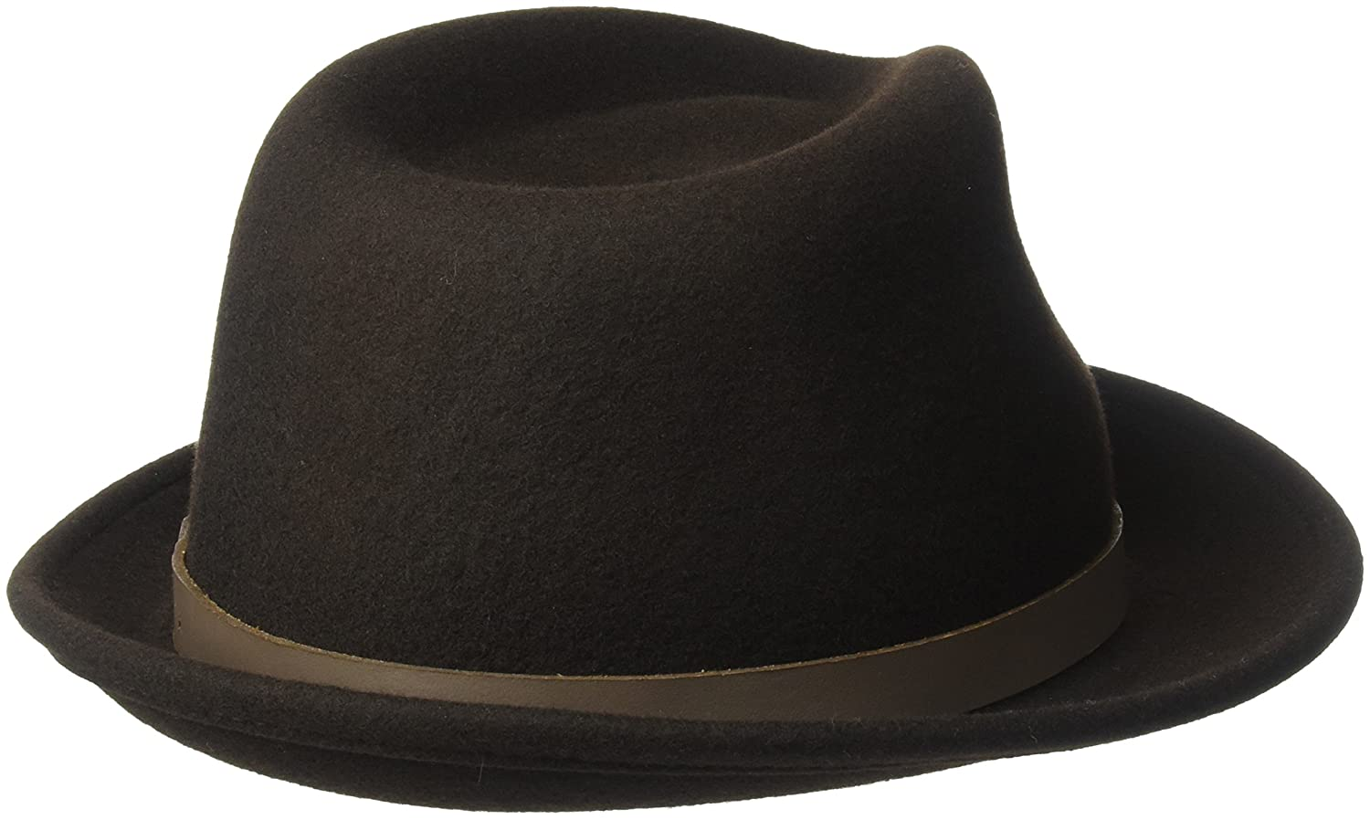 f6530f1e380486 Country Gentleman Men's Wallace Classic Fedora Hat at Amazon Men's Clothing  store: