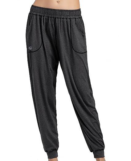 Cody Lundin Pantalones de Yoga Elástico Pretina Pantalones ...