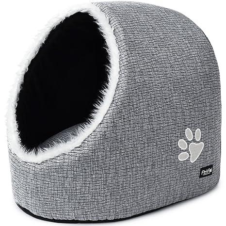 PetPäl Cueva para Animales | para Gatos y Perros pequeños ...