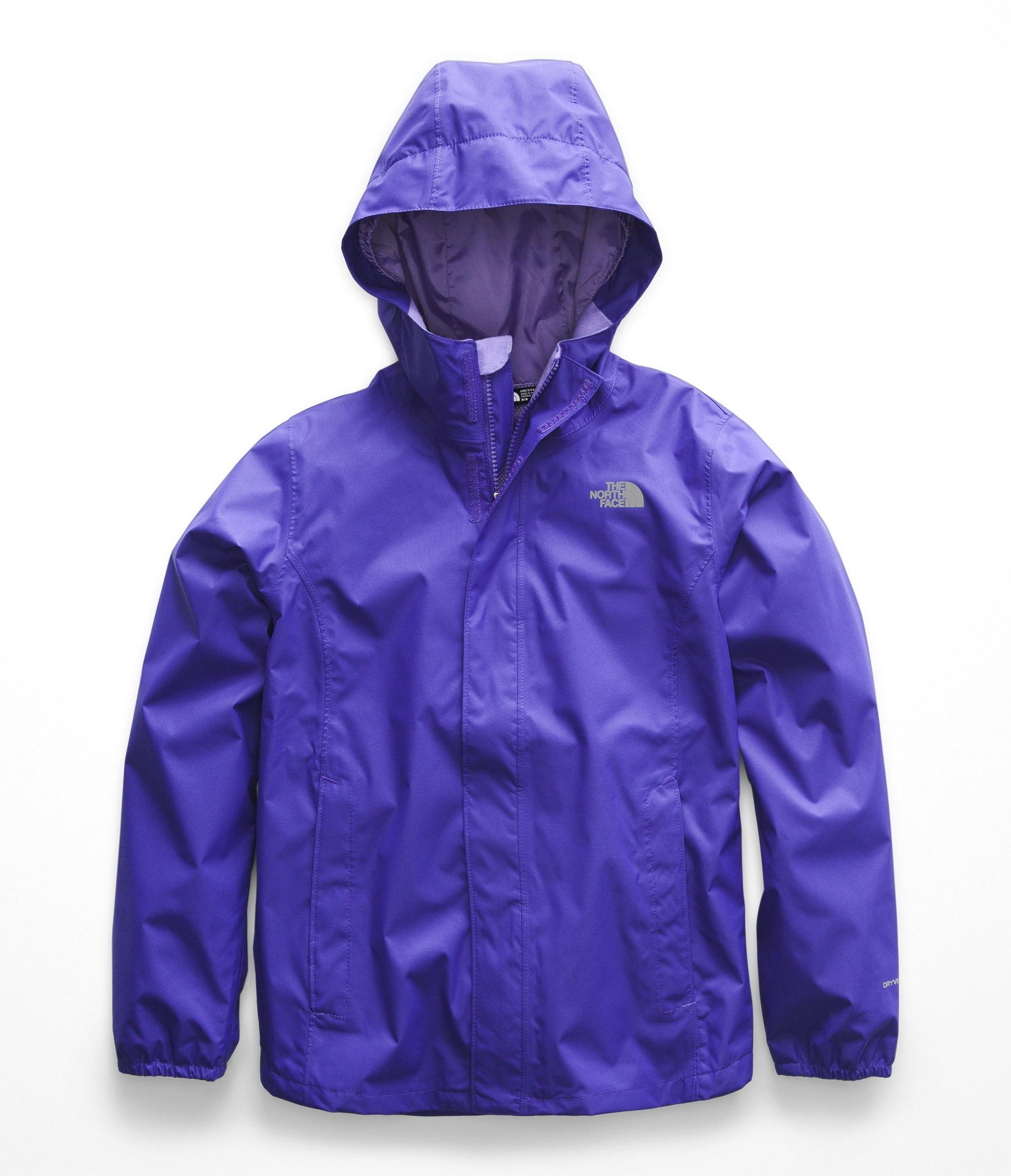 6fd4872d1 The North Face Kids Girl's Resolve Reflective Jacket (Little Kids/Big Kids)  Deep Blue Medium