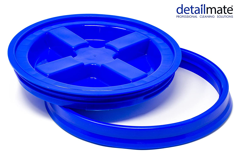 detailmate GritGuard Gamma Seal Eimerdeckel Blau Passend fü r Grit Guard Wash Buckets Eimer, Passend fü r Meguiar´ s