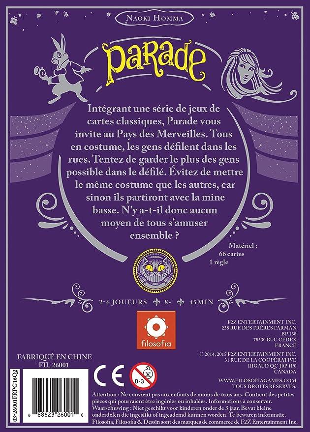Asmodee- Parade ZMPAR01 - Juego de Cartas: Amazon.es: Juguetes y juegos