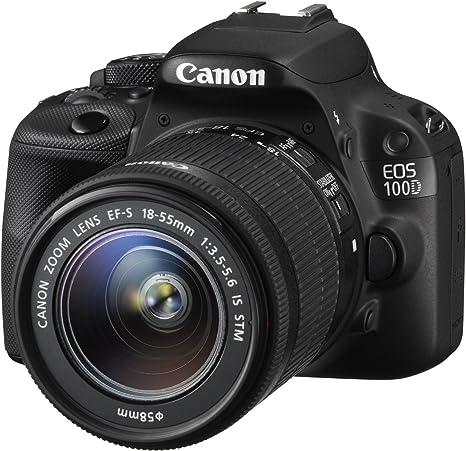 Canon EOS 100D - Cámara Digital de 18 MP (Pantalla táctil de 3in ...