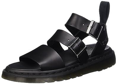 Gryphon Strap Sandals In Black - Black Dr. Martens Fo8aLx2kS