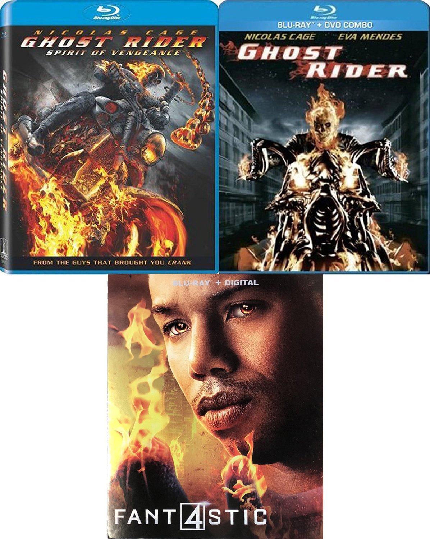 Amazon com: Johnny Blaze Super Marvel Movie Bundle Fantastic