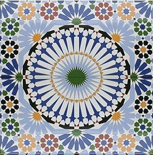 Keramikfliesen  3 Keramikfliesen Sevilla 705 Dekor Kacheln Wandfliesen ...