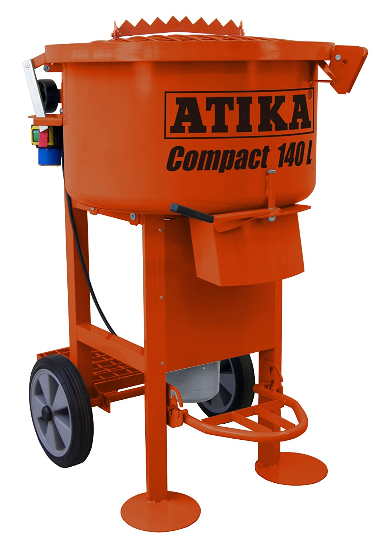 ATIKA Compact 140 Tellerzwangsmischer Betonmischer Zwangsmischer Mischer **NEU**