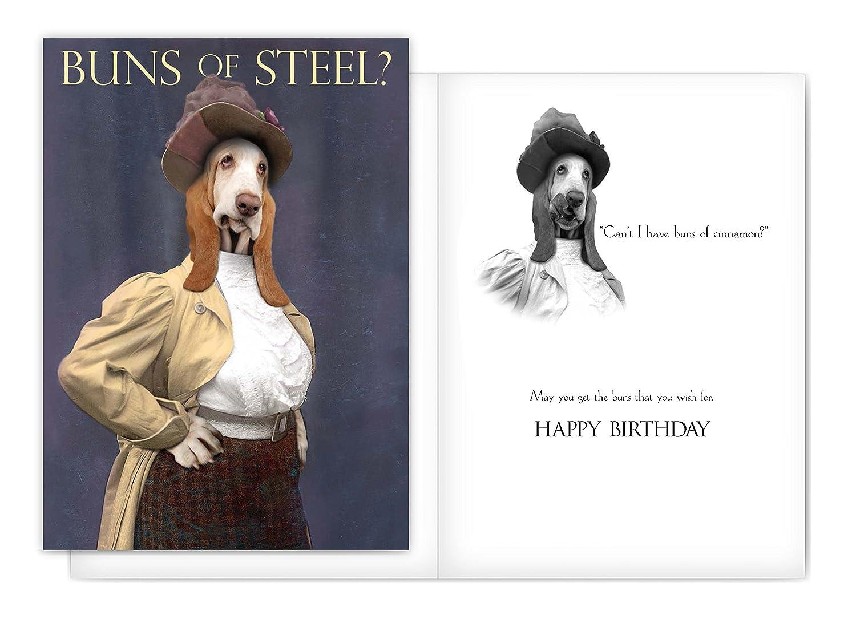Amazon Bad Dog Birthday Cards 12 Assorted Birthday Cards