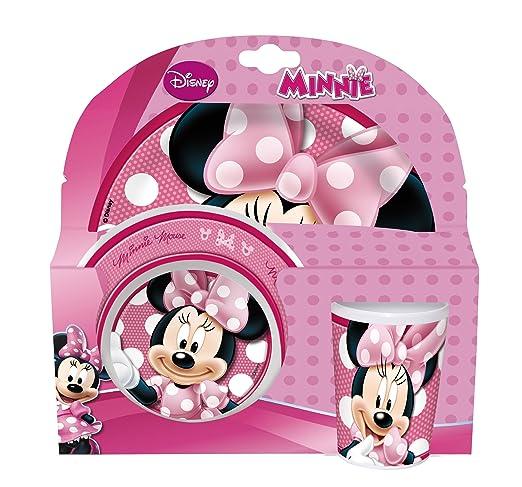 13 opinioni per Disney 736590- Minnie Set 3 Pezzi in Melamina in Confezione Regalo, 27x7x28 cm