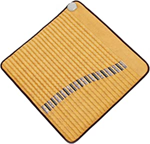 """Far Infrared Wide Mini Heating Mat Pad Amethyst & Tourmaline Crystal Radiant Heat Therapy (30"""" X 31"""") FDA Registered Manuf - Adjustable Temp Settings - 110Volt - Flexible - Order Today & Feel Better!"""