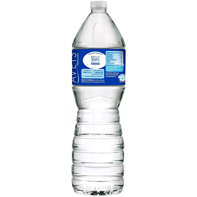 Nestlé Aquarel - 1,5 L Botella Agua Mineral Natural: Amazon.es: Alimentación y bebidas
