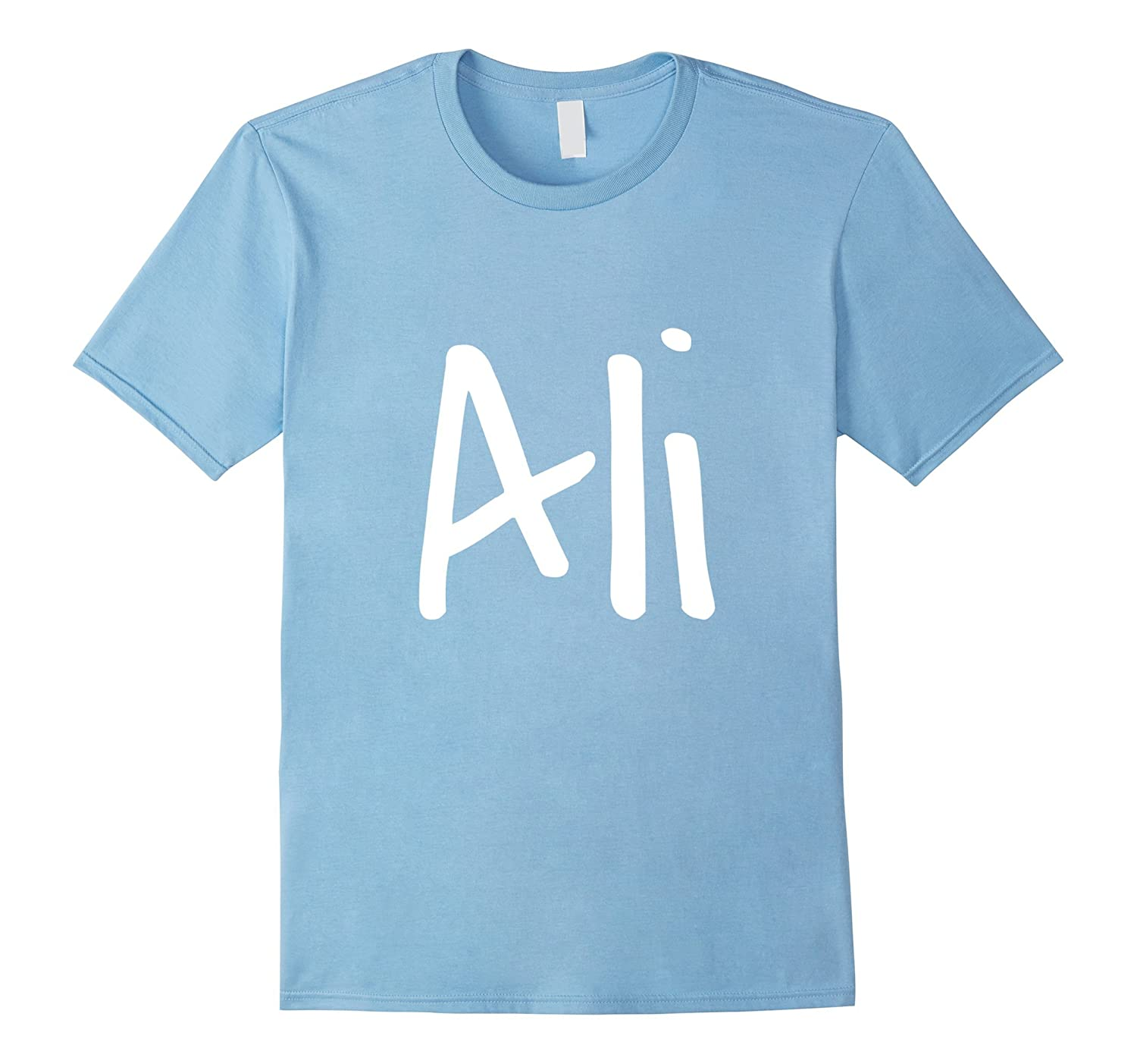 Ali - Your t-shirt with your name on it-PL