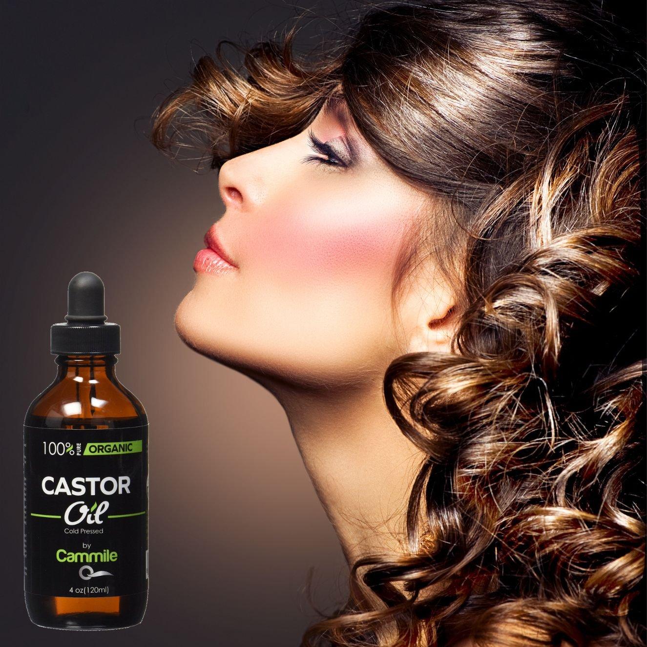 Organic Castor Oil For Eyelashes, Eyebrows, Hair & Skin ...