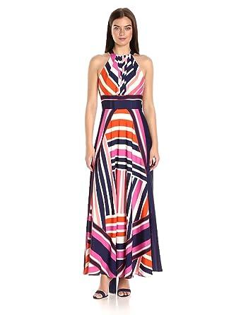 Eliza J Women's Halter Maxi Dress