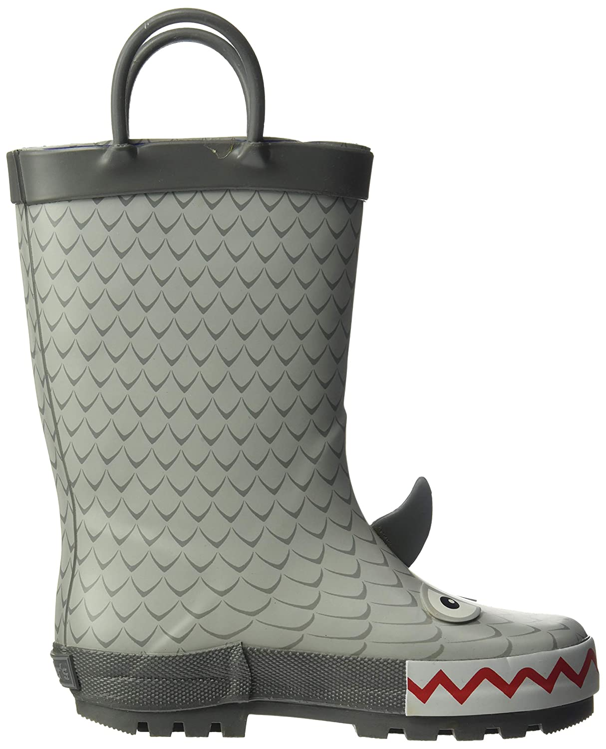 12 M US Toddler Grey carters Boys Marco Rubber Rainboot Rain Boot