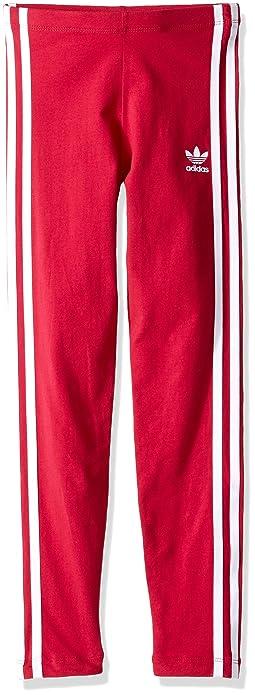 036e30881 adidas Originals Kids Baby Girl's Everyday Iconics 3-Stripes Leggings ( Toddler/Little Kids