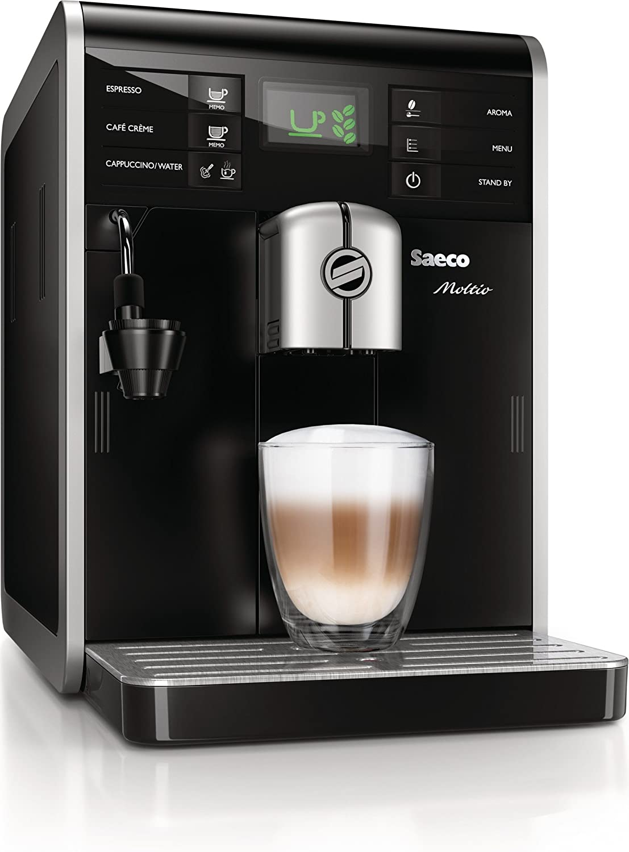 Saeco Moltio - Cafetera espresso super automática, con espumadera ...