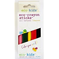 eco-kids 4282-10pk eco-Crayon Sticks Childrens Crayons