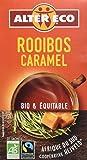 Alter Eco Thé Blanc Rooibos Caramel Bio et Équitable 20 sachets - Lot de 4