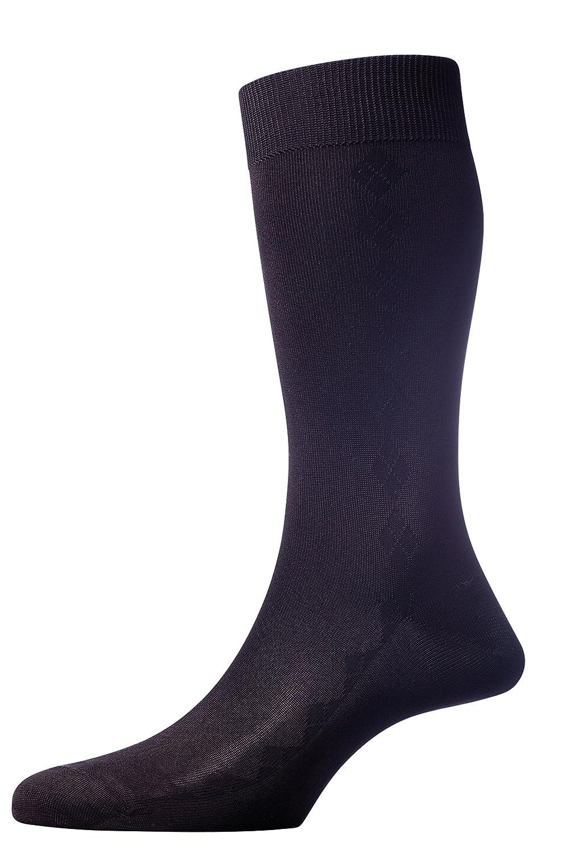 1ec01c89d74d Pantherella Jackman Silk Blend Over the Calf Mens Formal Dress Socks at  Amazon Men's Clothing store: