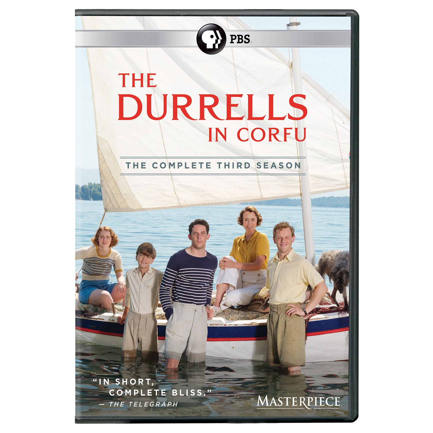 Masterpiece: The Durrells in Corfu, Season 3 (UK Edition) DVD